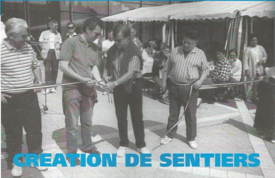Inauguration sentier